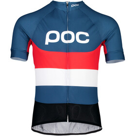 POC Essential Road Logo Jersey Herren prismane multi red